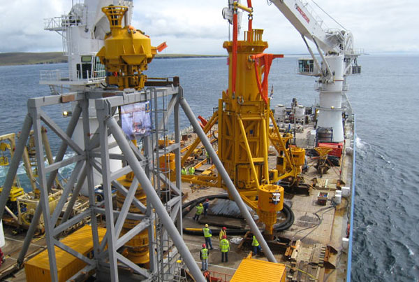 Offshore piling system