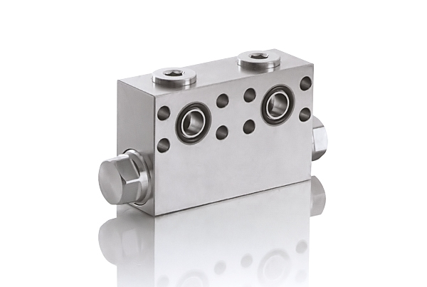 Anti-cavitation valve for HPTM