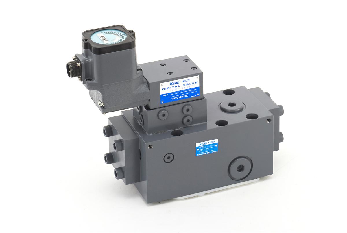 Digital valve control system