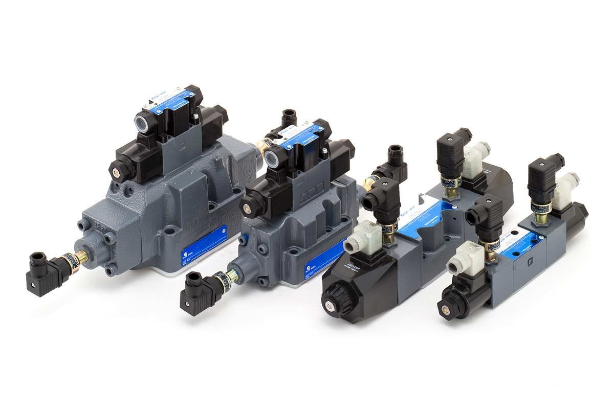 Directional and flow control valves