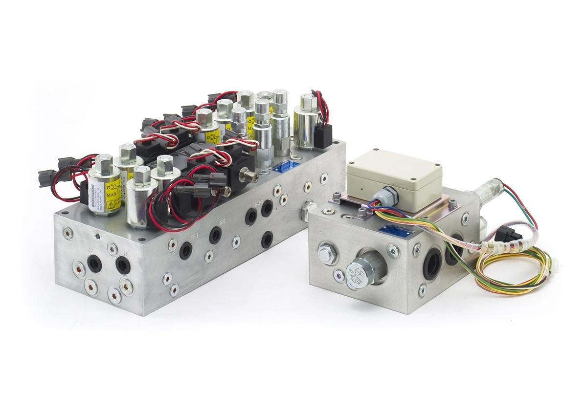 Manifold-block Cad Designed